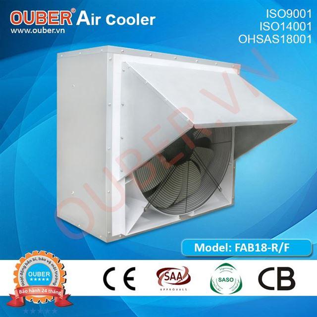 Quạt thông gió gắn tường - mái FAB18-Q/F động cơ trực tiếp 2 tốc độ