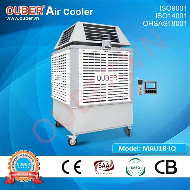 Máy làm mát di động MAU18-IQ 50 tốc độ, cửa gió 4 hướng (300L)
