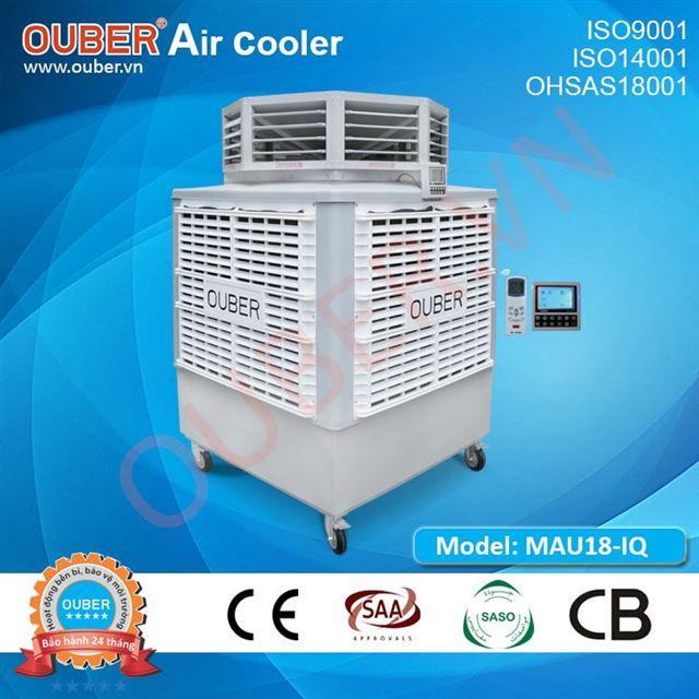 Máy làm mát di động MAU18-IQ 50 tốc độ, cửa gió 8 hướng (300L)