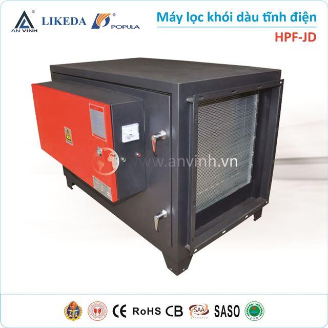 Máy lọc khói dàu tĩnh điện HP-JD