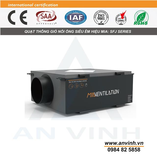 Quạt thông gió nối ống hiệu MIA model: SFJ Series