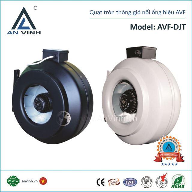 Quạt tròn thông gió nối ống hiệu AVF Model: AVF-DJT