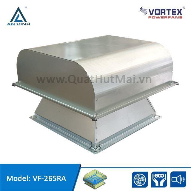 Quạt hướng trục hút mái - giếng trời hiệu VORTEX model: VF-265RA