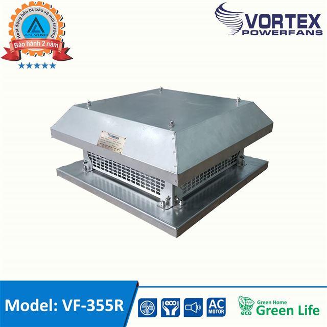 Quạt ly tâm hút mái - giếng trời hiệu VORTEX model: VF-355R