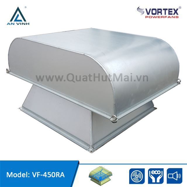 Quạt hướng trục hút mái công nghiệp hiệu VORTEX model: VF-RA Series